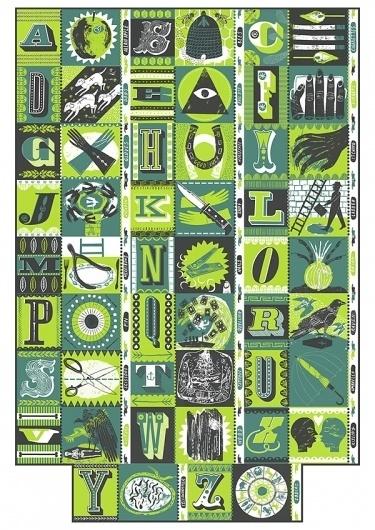Alphabet of Superstitions : Alice Pattullo Illustration #illustration #alphabet #alice #patullo