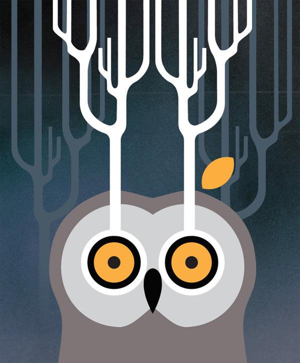 owl #vectors #illustration #owl