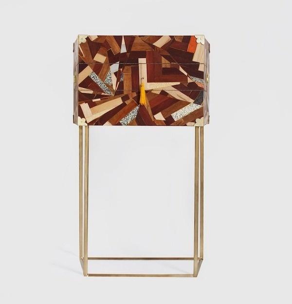 Studio Swine: Prism Cabinet Thisispaper Magazine #wood #furniture #design #cabinet