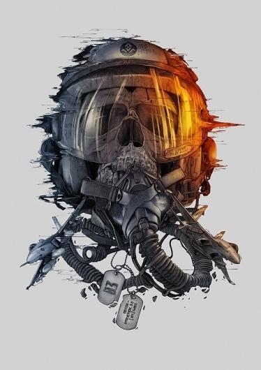 Battlefield 3 Tribute on the Behance Network #illustration