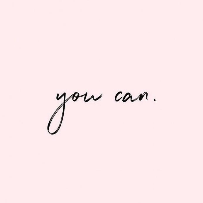 "You Can by: @_lexichantel"""