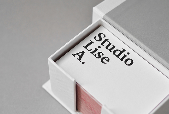 Studio Lise A. by Lise Armand #business #card #print #graphic #design
