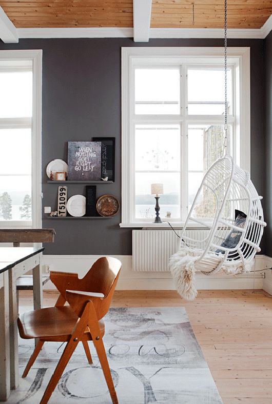 let's swing / sfgirlbybay #interior #design #decor #deco #swing #decoration