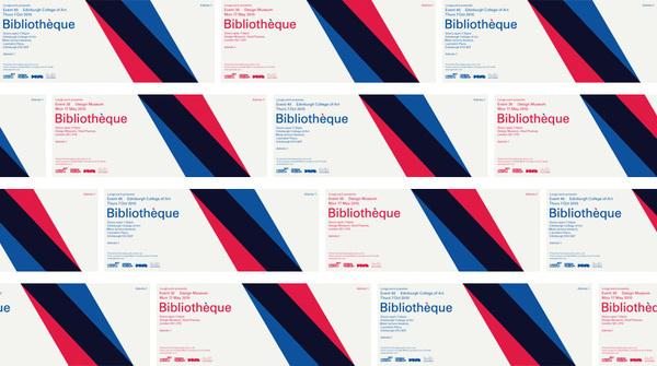 A Talk by Bibliothèque | Bibliothèque Design #layout #typography