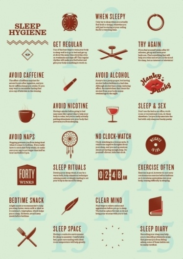 The Field Guide to Somnolence #graphic design #poster #brochure