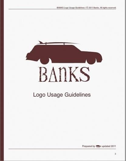 Banks   Surf products #just #surf #branding #guide #banks #usage #jack #logo