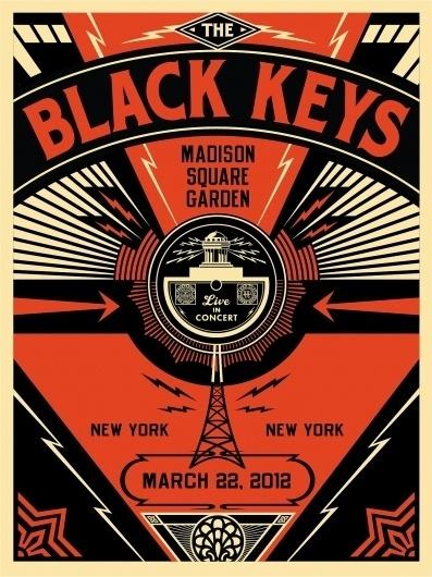 Obey x The Black Keys « SIXAND5 – Inspiration webzine #black #fairey #poster #obey #shepard #keys