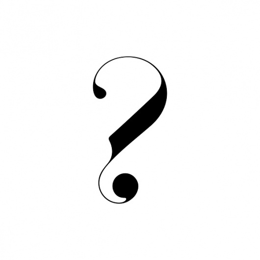 Paris | New Typeface by Moshik Nadav Typography on the Behance Network #mark #paris #question #typeface