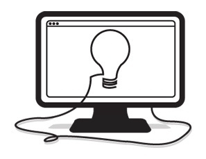 The 5 Best Websites to Visit for Creative Inspiration #computer #creative #inspiration #icon #creativity #illustration #lightbulb