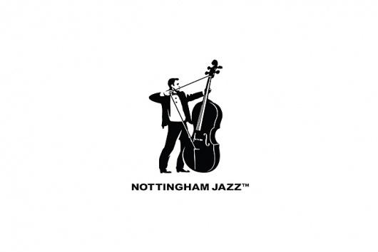 Glad Creative #white #jazz #black #and #logo