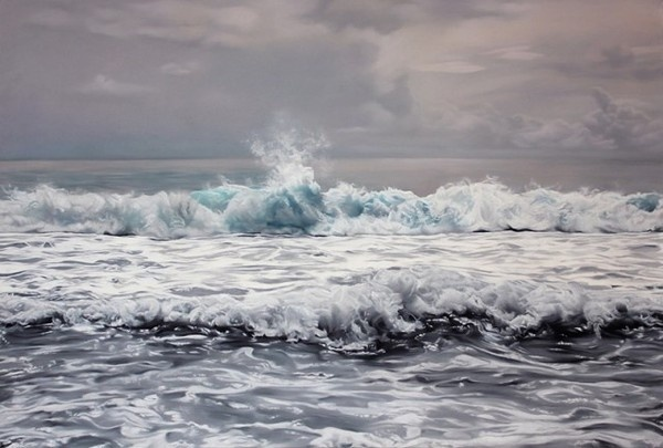 Pastel Icebergs by Zaria Forman 8 #painting #sea #art