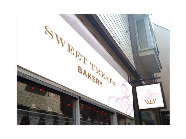 Corporate Identity #signage #cupcakes #bakery #branding