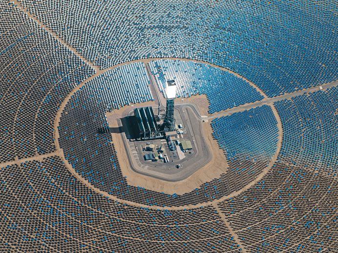 Solar Power Plants on Behance