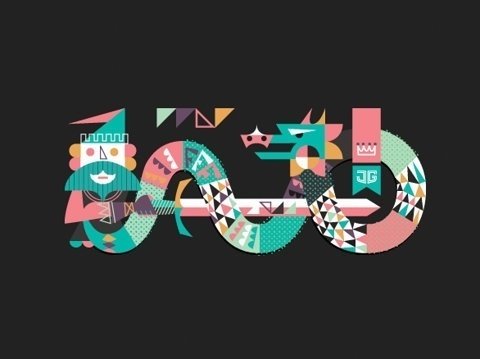 FFFFOUND! | The Year of the Dragon by Javier Garcia | Flickr - Photo Sharing! #logo #face