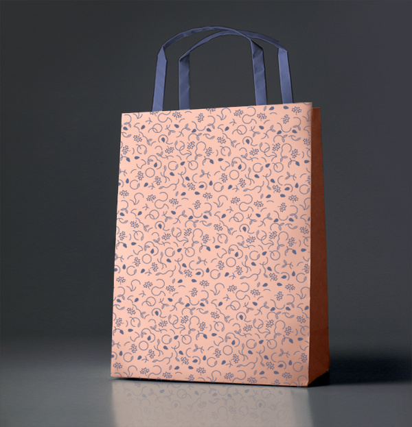 Chabur Heroes Design Portfolio of Piotr Buczkowski Graphic design #pattern #branding #pink #floral #identity #bag