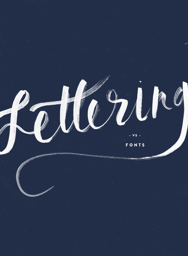 Design Terms : Lettering