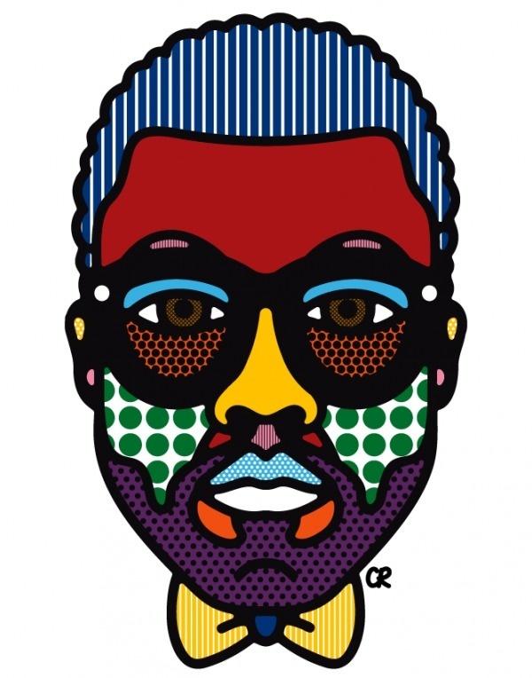 Kanye West Portrait | MONOmoda #kaney #illustration #craigandkarl #west