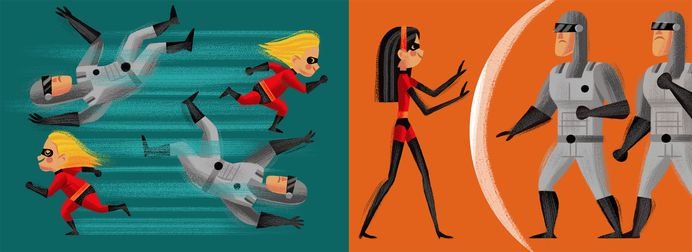 The Incredibles — Invisible Creature