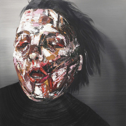 Marefumi Komura   PICDIT #abstract #paintings #portrait #painting #art