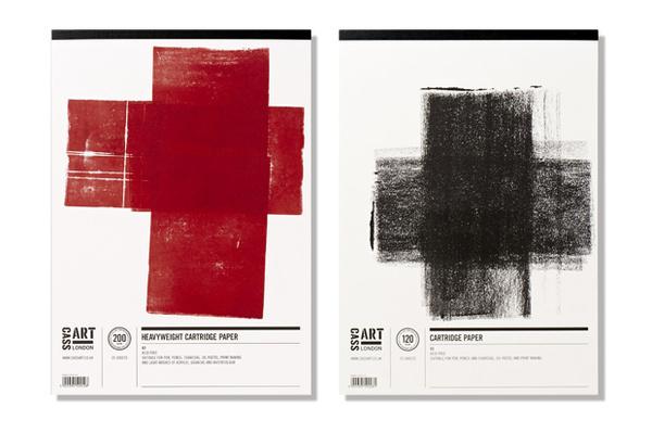 Cass Art Cartridge #cass #packaging #london #design #graphic #art #cartridge #pentagram #paper #watercolour