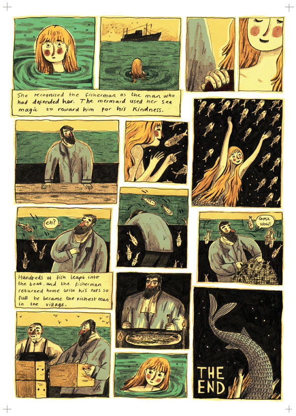 Briony May Smith illustration #comic #illustration #mermaid #book