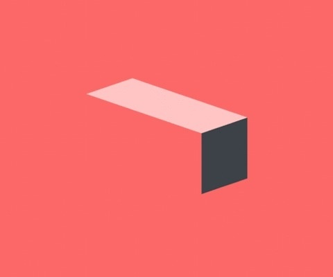 rolling rectangle #graphic #gif #animation