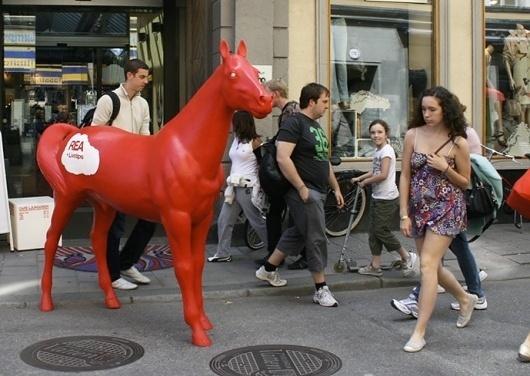 SNASK – Designing Brands & Lifestyles #horse #snask #red