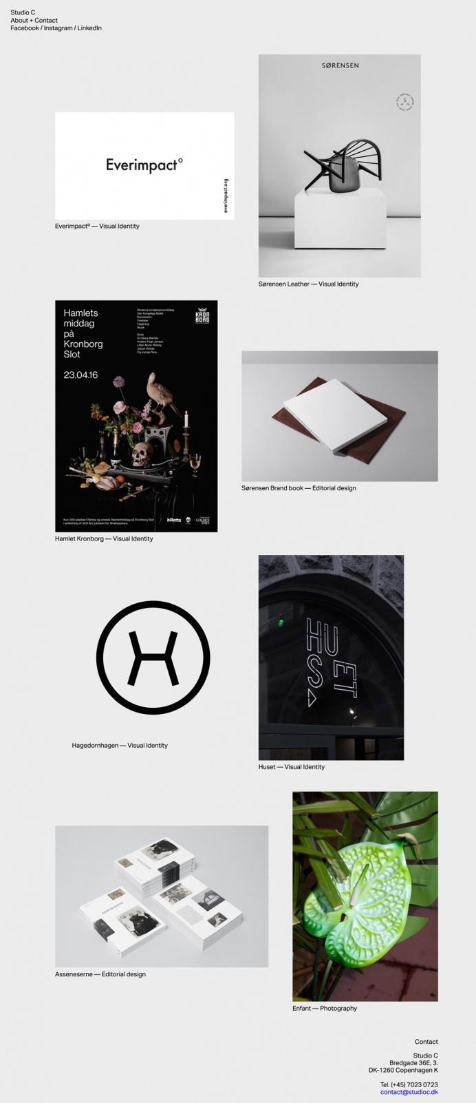 studioc.dk digital agency design studio website webdeesign beautiful beauty best awwward award awwwards nice minimal inspiration inspire bes