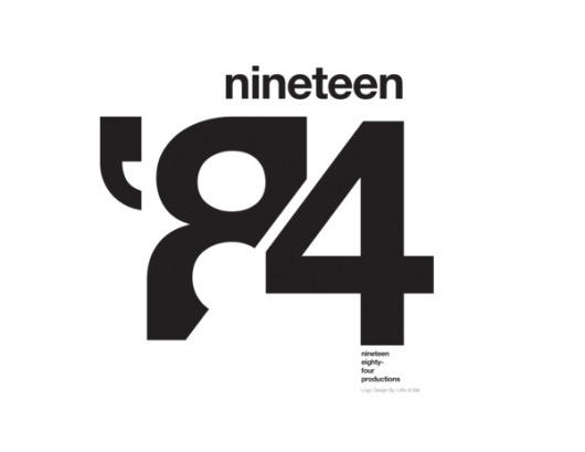 1984 Studios. Logo Design on Branding Served #typography