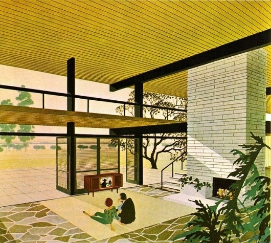 WANKEN - The Blog of Shelby White » The Illustration of Mid-Century Modern