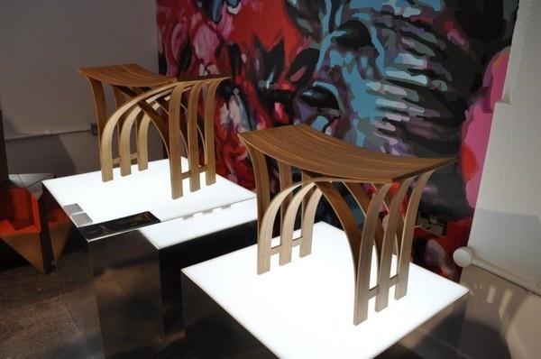 Modular Flexible Bamboo Stool Contemporary #interior #design #decor #home #furniture #architecture