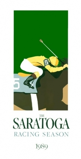 Greg Montgomery: Travers Posters #horse #design #graphic #illustration #poster #saratoga #thoroughbred #race