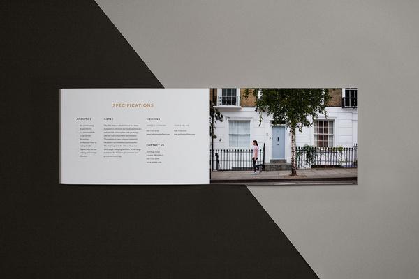 The Old Bakery / Matthew Hancock #old #bakery #print #design #graphic #spread #brand #building #identity #logo #booklet #brochure