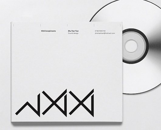 Zhu Tiantian, Sound Design - Twelve #packaging #design #graphic