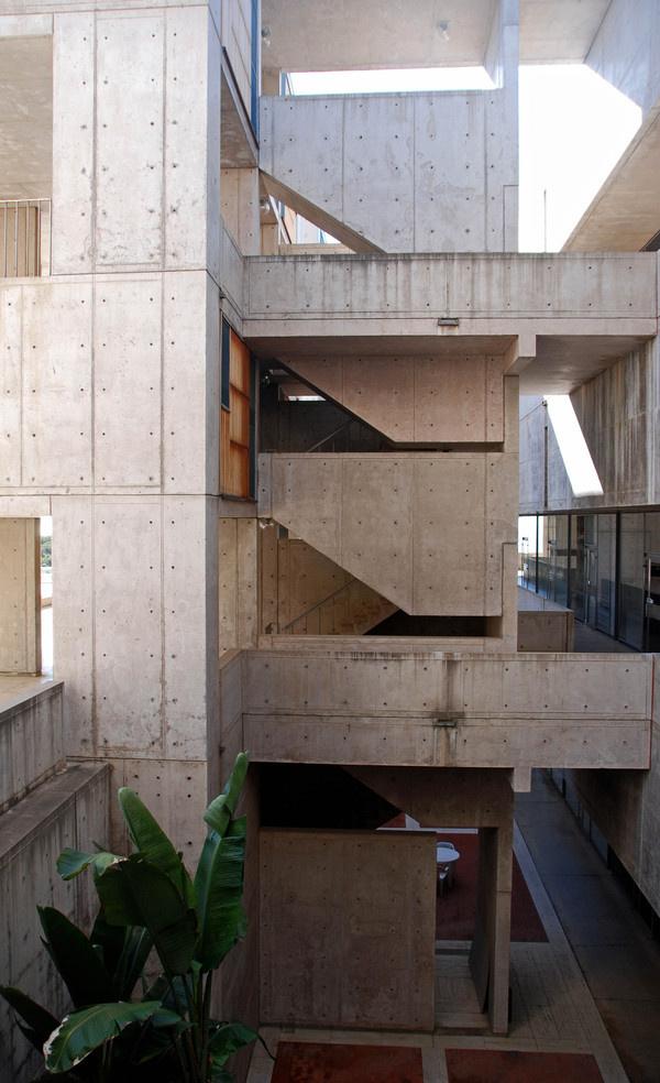 Virginia_Duran_Blog_Kahn and John Salk_Interior #kahn #salk #architecture #louis #institute