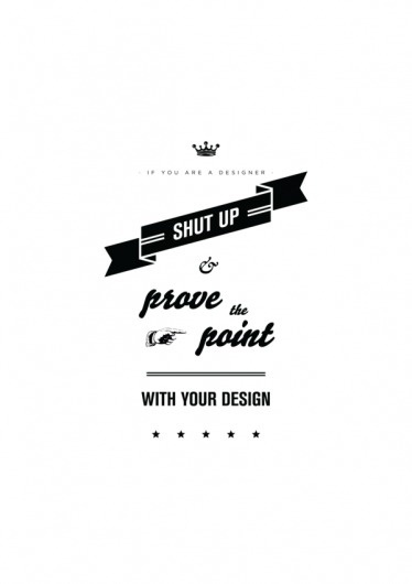 I design, therefore I am on the Behance Network #posters #vintage #poster #typography
