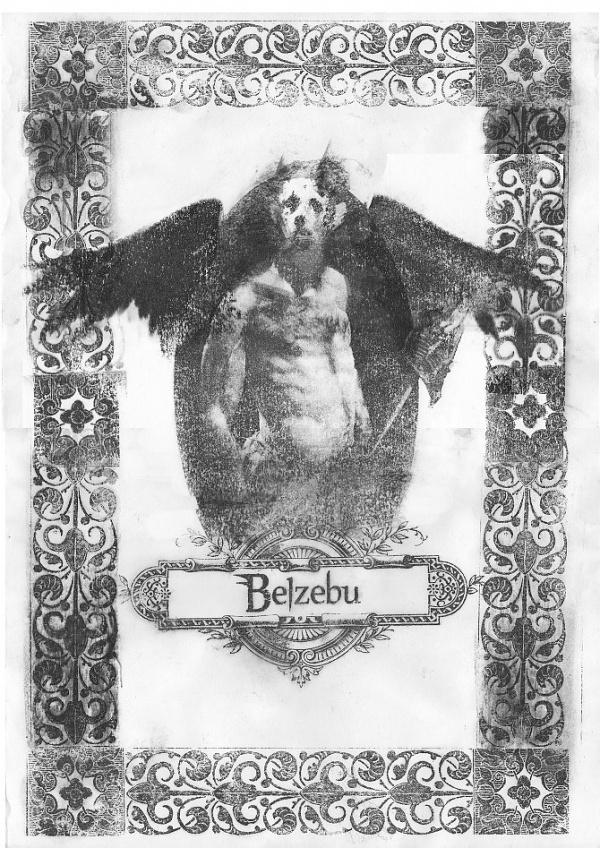 Bestiario Ilustrado - Belzebu - numanhoid #transfer #bipolartseis #numanhoid #belzebu