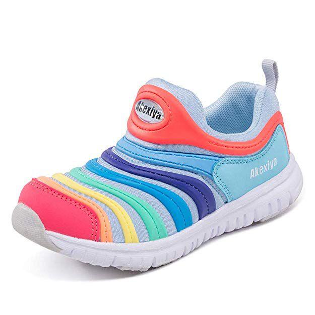 AKexiya Kids Sport Sneakers Lightweight Breathable Casual Walking Shoes for Boys Girls (2.5M US Little Kids)