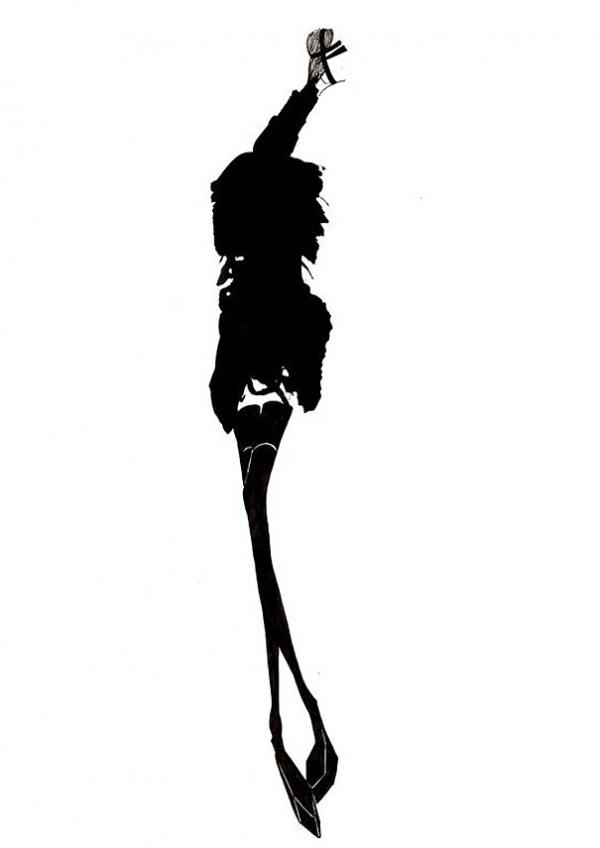 Lotty Rose's fashion illustrations #fashion
