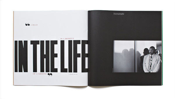 Jazz FM Booklet Matt Willey #editorial #typography