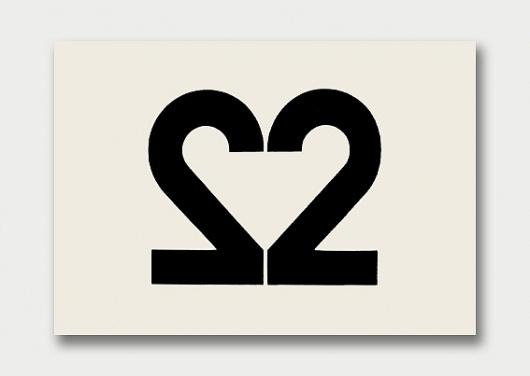 Logo Collection – Number Theory, 1960s/70s / Aqua-Velvet #logos #typography