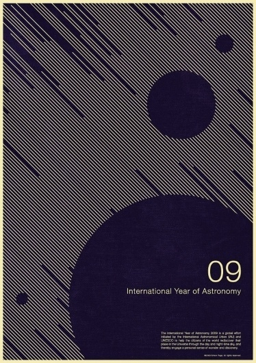 International Year of Astronomy 09   excites | Graphic Designer | Simon C Page