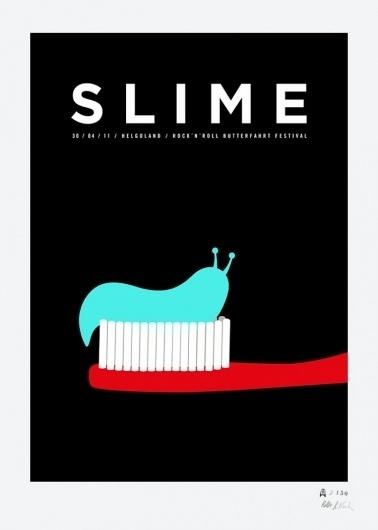 Rocket & Wink - Siebdruck: Cake & Slime #slime