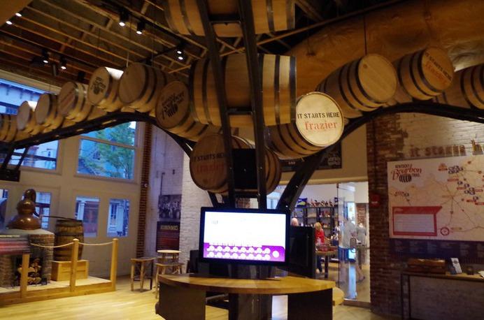 Kentucky Bourbon Trail Welcome Center Frazier History Museum Louisville Kentucky