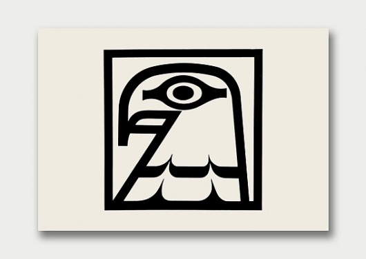 Logo Collection – International Aviary, 1960s/70s / Aqua-Velvet #mark #white #color #black #bird #mid #vintage #one #century #logo