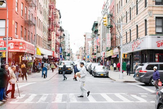 New-York-City-Elopement-4 #apple #bun #blossom #city #big #the #bride #car #taxi #nyc #wedding