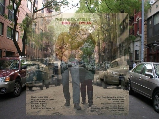 Where could it be? Tracking Vintage Album Art in NYC