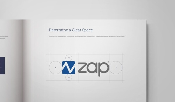 Zap. Graphic and Website Design on Behance #grid