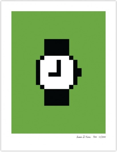 WATCH | Susan Kare Prints #apple #icons #poster