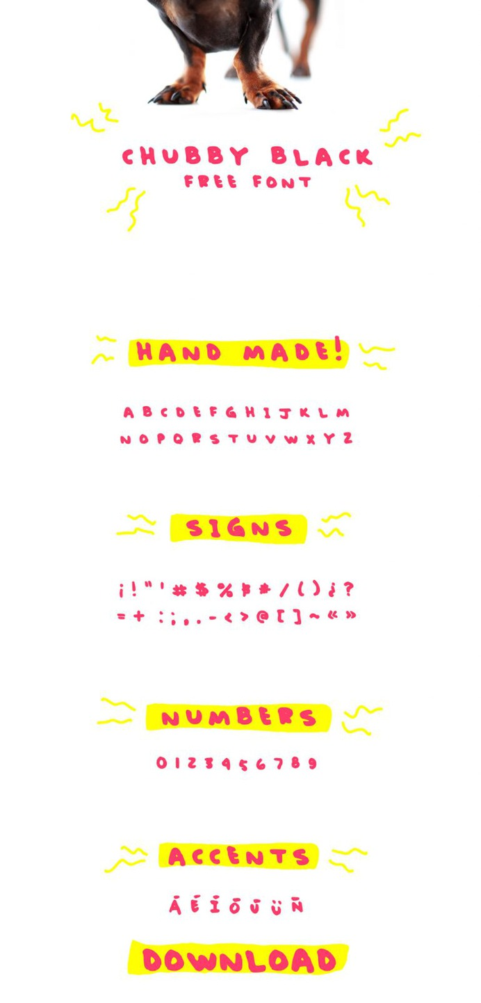 Chubby Black – Free Font
